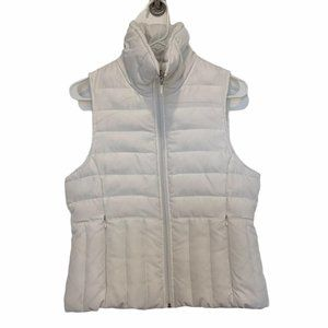Kenneth Cole Reaction Vest down white zip up invis
